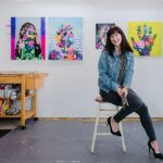 Painter + Podcaster, Erika Hess, I Like Your Work (Ohio, USA)