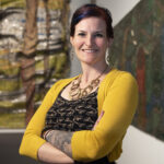 Curator of African Art, Dr. Amanda M. Maples (USA + Germany)